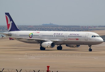 B-MAR - Air Macau Airbus A321