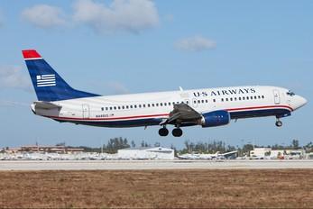 N449US - US Airways Boeing 737-400