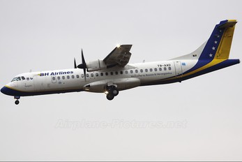 T9-AAD - Air Bosnia - BH Airlines ATR 72 (all models)