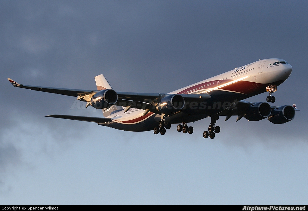 Arik Air CS-TFW aircraft at London - Heathrow