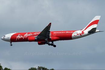 9M-XAA - AirAsia X Airbus A330-300