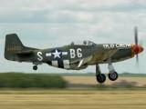 N167F - Scandinavian Historic Flight North American P-51D Mustang aircraft