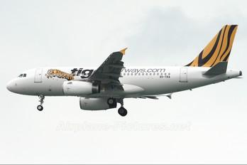 9V-TRA - Tiger Airways Airbus A319