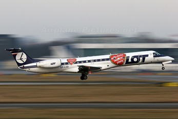 SP-LGD - LOT - Polish Airlines Embraer ERJ-145