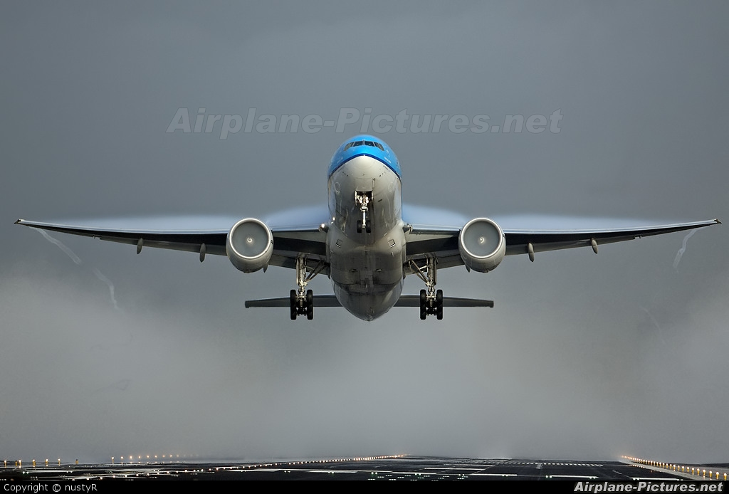 KLM PH-BQH aircraft at Amsterdam - Schiphol
