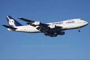 EP-ICD - Iran Air Cargo Boeing 747-200F