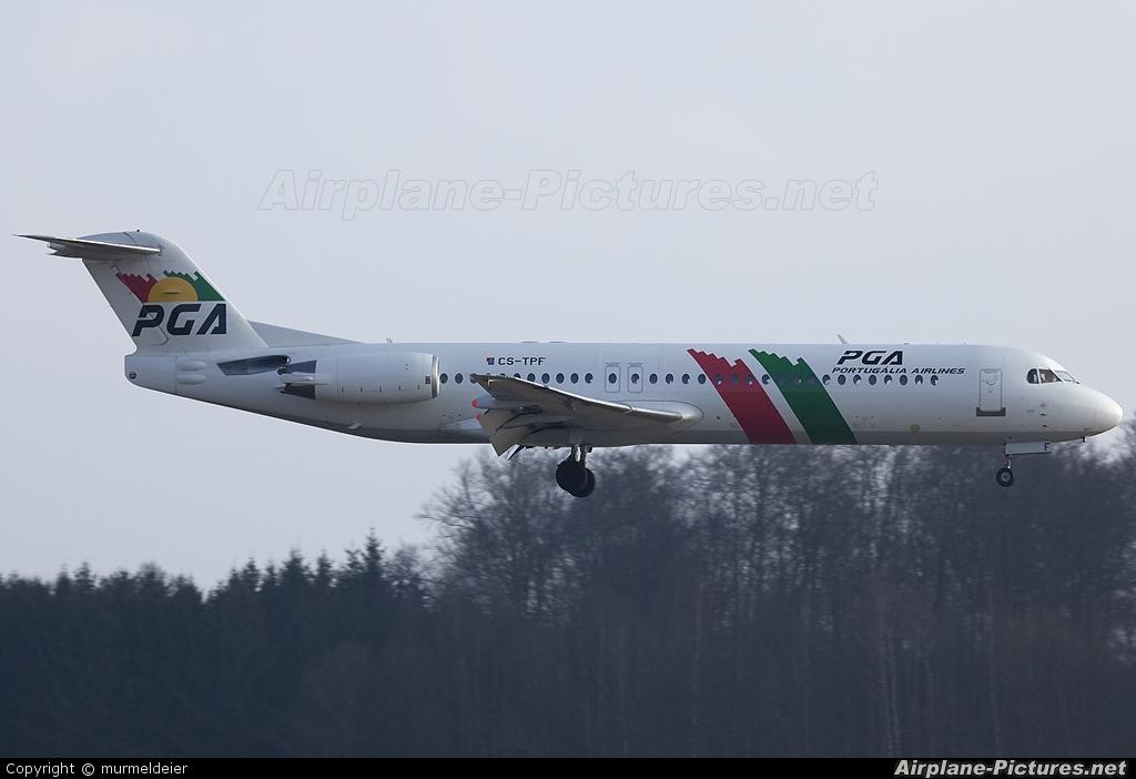PGA Portugalia CS-TPF aircraft at Luxembourg - Findel