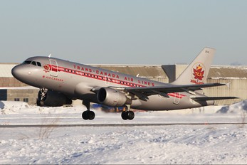 C-FZUH - Air Canada Airbus A319