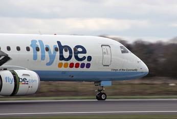 G-FBEA - Flybe Embraer ERJ-195 (190-200)