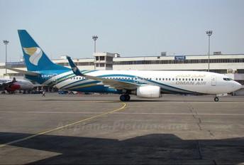 G-CEJP - Oman Air Boeing 737-800