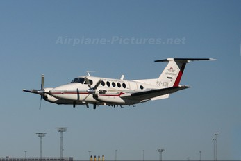SE-KDK - Luftfartsverket Flight Inspection Sweden Beechcraft 200 King Air