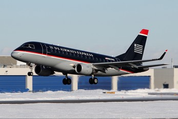 N801MA - US Airways Express Embraer ERJ-170 (170-100)