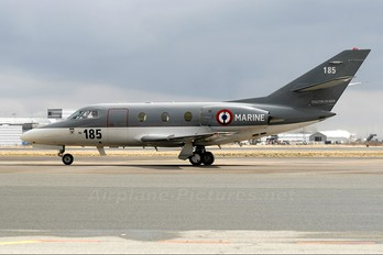 185 - France - Navy Dassault Falcon 10MER
