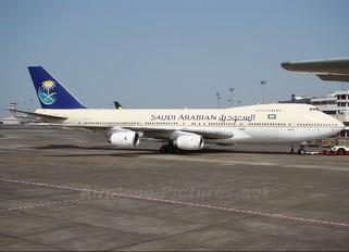 HZ-AID - Saudi Arabian Airlines Boeing 747-100