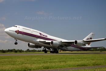 HS-TGN - Thai Airways Boeing 747-400
