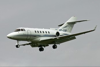 VP-COD - Private Hawker Beechcraft 850XP