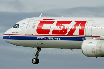 OK-CED - CSA - Czech Airlines Airbus A321