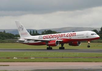 G-CEJM - Flyglobespan Boeing 757-200