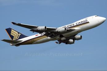 9V-SFK - Singapore Airlines Cargo Boeing 747-400F, ERF
