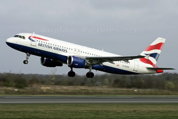 G-BUSK - British Airways Airbus A320