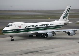 N489EV - Evergreen International Boeing 747-200F