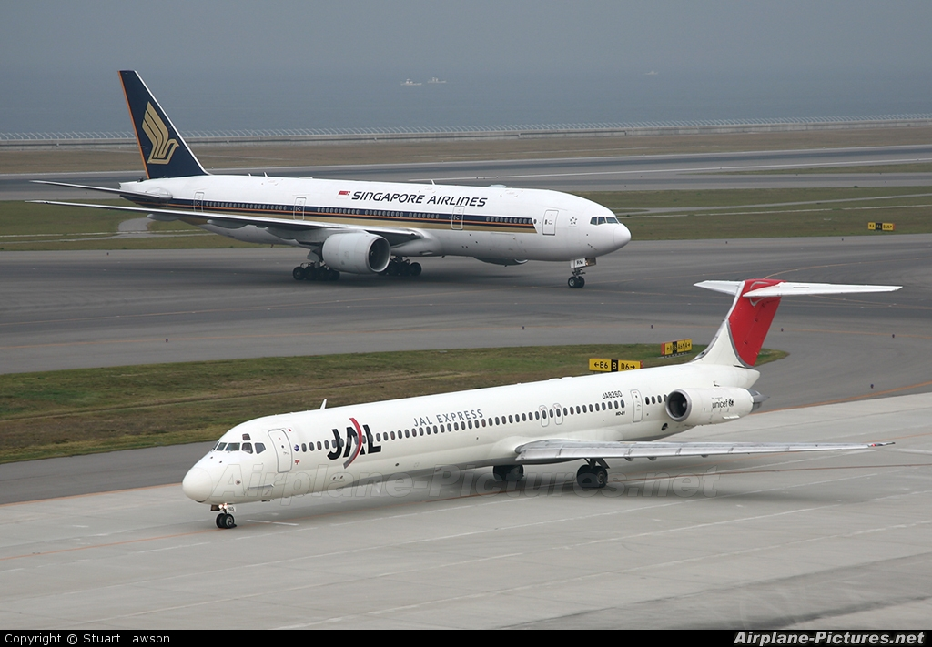 81 Aircraft Contact Us Email Cv Jobs Gov 419 Scams Mail: Express McDonnell Douglas MD-81 At Chubu