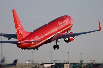 OY-SEM - Sterling Boeing 737-800