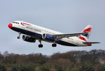 G-EUUX - British Airways Airbus A320