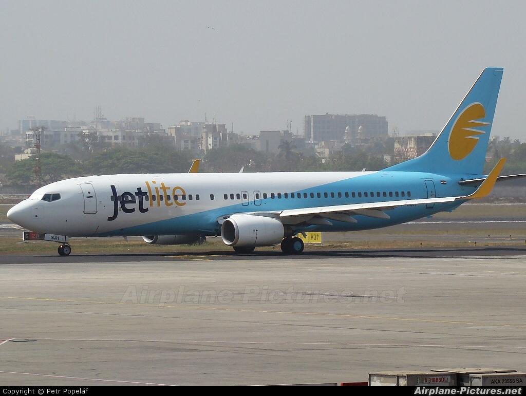Jet Lite India VT-SJH aircraft at Mumbai - Chhatrapati Shivaji Intl