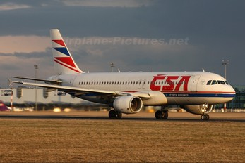 OK-LEF - CSA - Czech Airlines Airbus A320