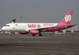 VT-WAD - Go Air Airbus A320