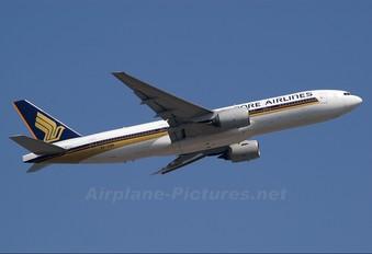 9V-SQN - Singapore Airlines Boeing 777-200ER