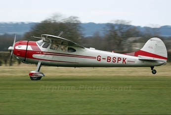 G-BSPK - Private Cessna 195 (all models)
