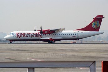 VT-KAG - Kingfisher Airlines ATR 72 (all models)