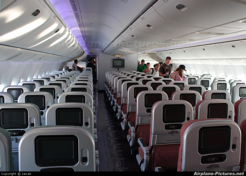 Vh voz virgin australia boeing 777 300er at avalon vic for Boeing 777 interior