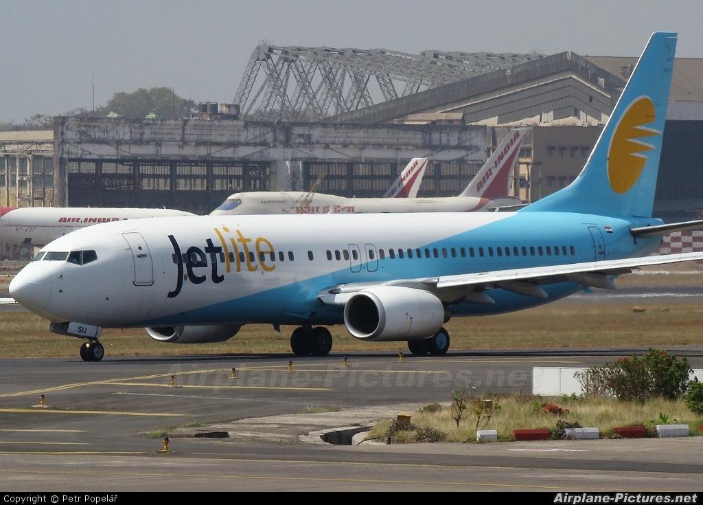 Jet Lite India VT-SIJ aircraft at Mumbai - Chhatrapati Shivaji Intl