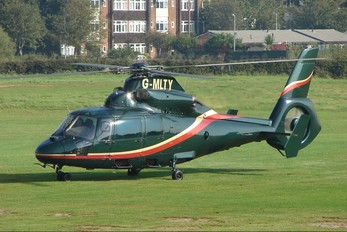 G-MLTY - Private Aerospatiale AS365 Dauphin II