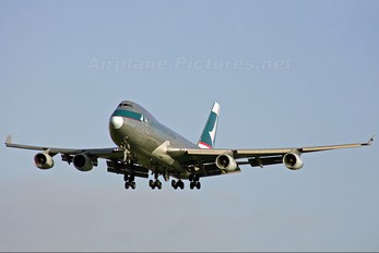 B-HUH - Cathay Pacific Cargo Boeing 747-400F, ERF