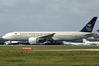 HZ-AKI - Saudi Arabian Airlines Boeing 777-200ER