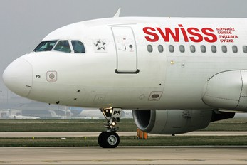 HB-IPS - Swiss Airbus A319