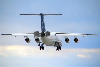 HB-IYU - Swiss British Aerospace BAe 146-300/Avro RJ100
