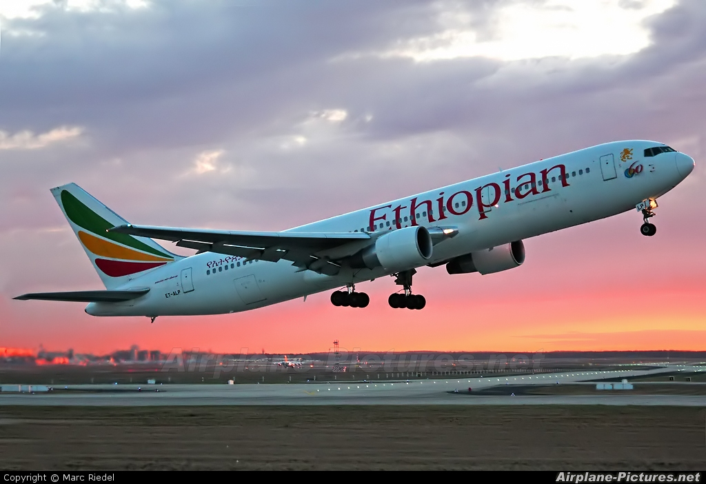 Image result for Ethiopian Airlines plane pictures