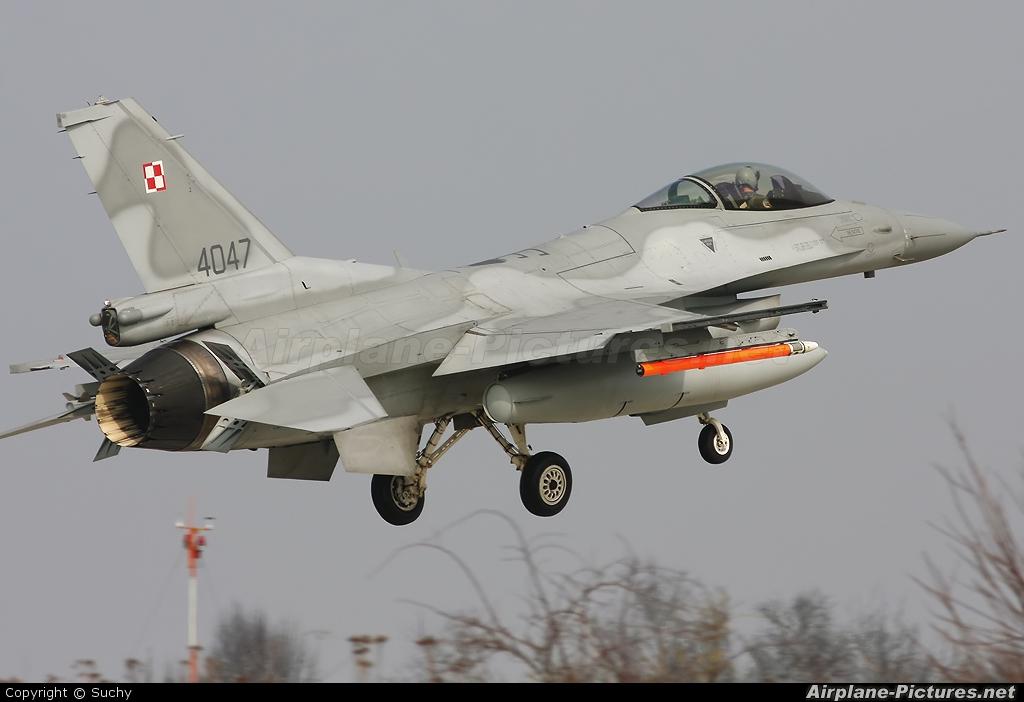 Poland - Air Force 4047 aircraft at Florennes