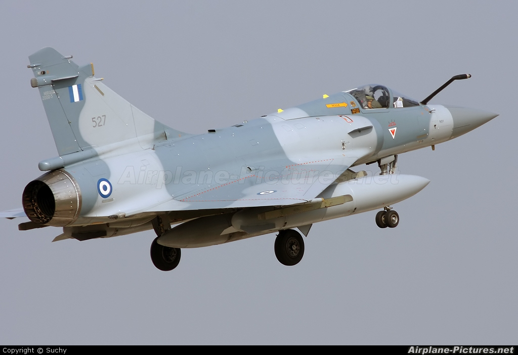 Greece - Hellenic Air Force 527 aircraft at Florennes