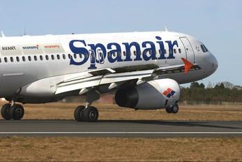 EC-IVG - Spanair Airbus A320