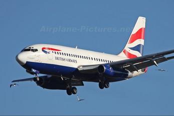 ZS-OLB - British Airways - Comair Boeing 737-200
