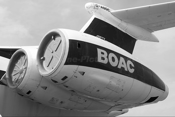 G-ASGC - BOAC - British Overseas Airways Corporation Vickers Super VC-10