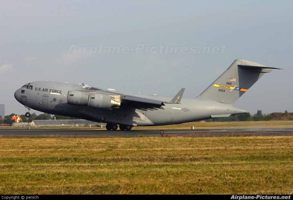 USA - Air Force 01-0193 aircraft at Copenhagen Kastrup