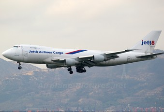 9V-JEB - Jett8 Airlines Cargo Boeing 747-200F