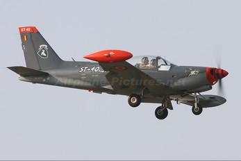 ST-40 - Belgium - Air Force SIAI-Marchetti SF-260